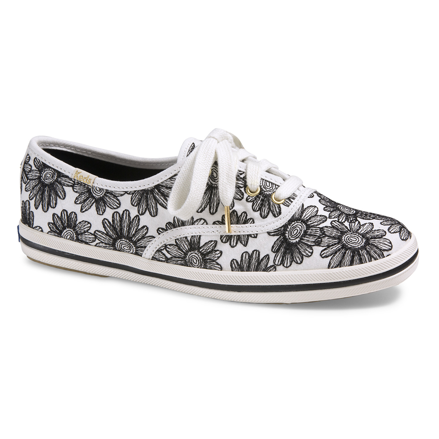 WF54485 Champion Daisy Embroidery black_70euros