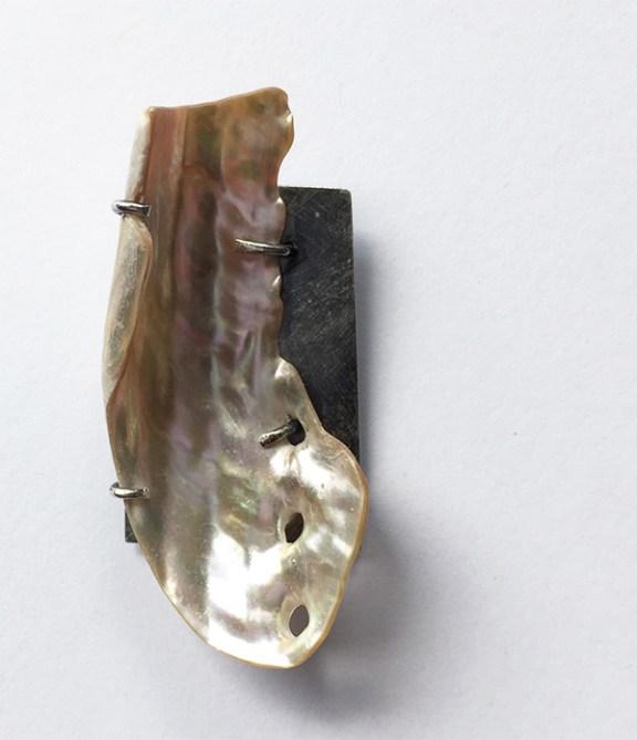 Vida - NZ paua and silver