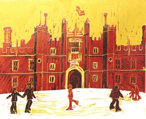 Hampton Court Rink test print