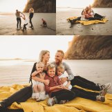 family photography at washington state beach