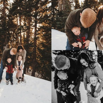 Hurricane Ridge in the snow! | Seattle Family Photos