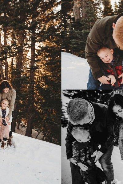 Hurricane Ridge in the snow! | Seattle Family Photos