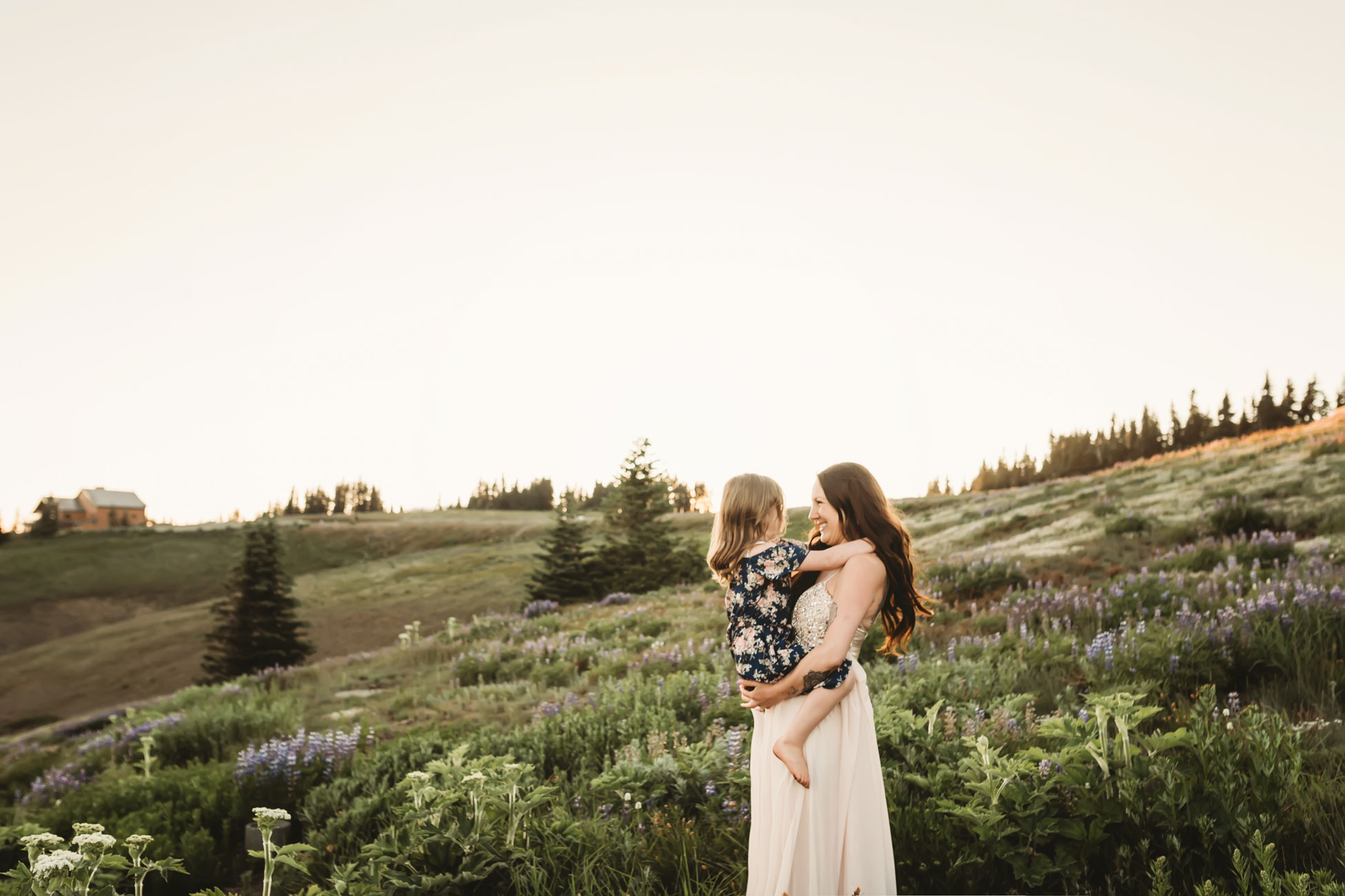mother and daughter seattle family photography session