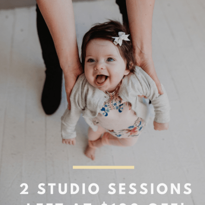 Seattle Studio Session, $100 off, only 1 left!
