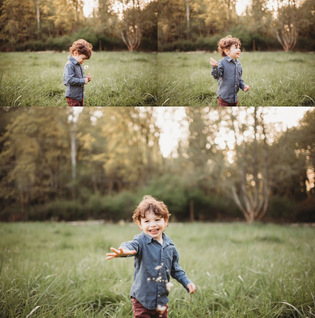 sweet little boy at family photography session