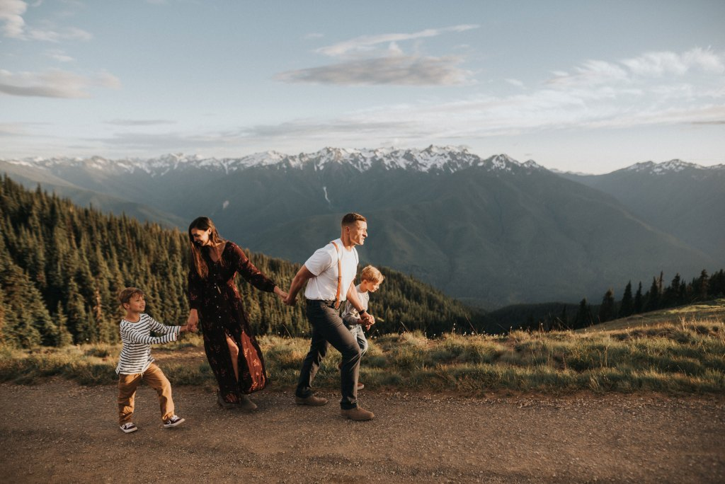 Seattle Adventure Family Photographer olympic national park