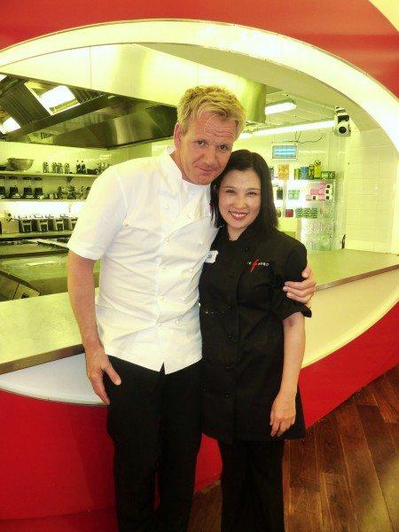 Jian and Gordon Ramsay who loved her freshly cooked dumplings.