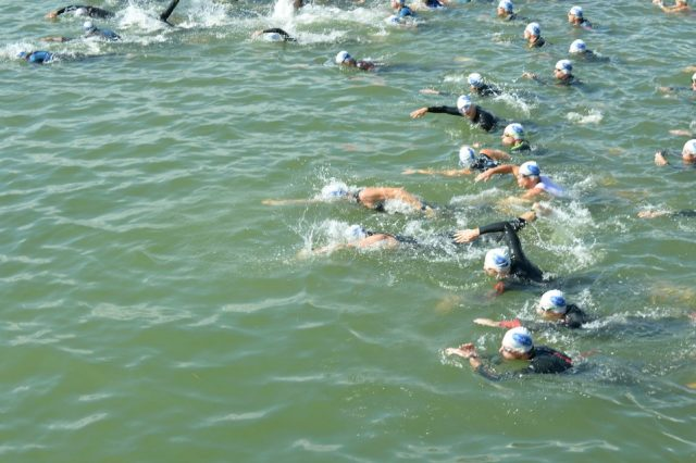 The swim. Many thanks to Horst Sommer for letting me use this pic.
