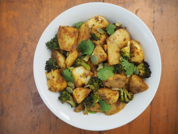 Indian Spiced Potatoes