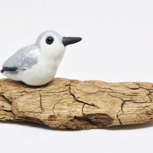 polymerclay, clay, fimo, bird, sanderling, shorebird