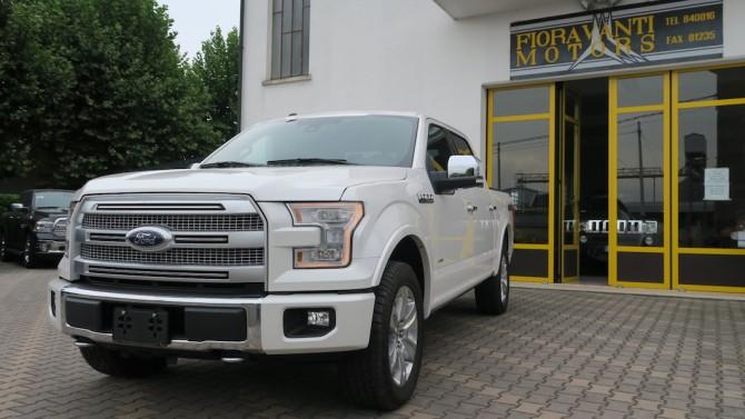 FordF150PlatinumBianco