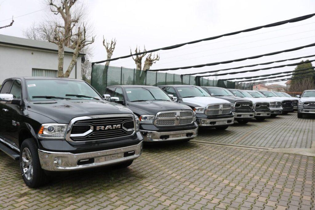 Dodge Ram disponibili