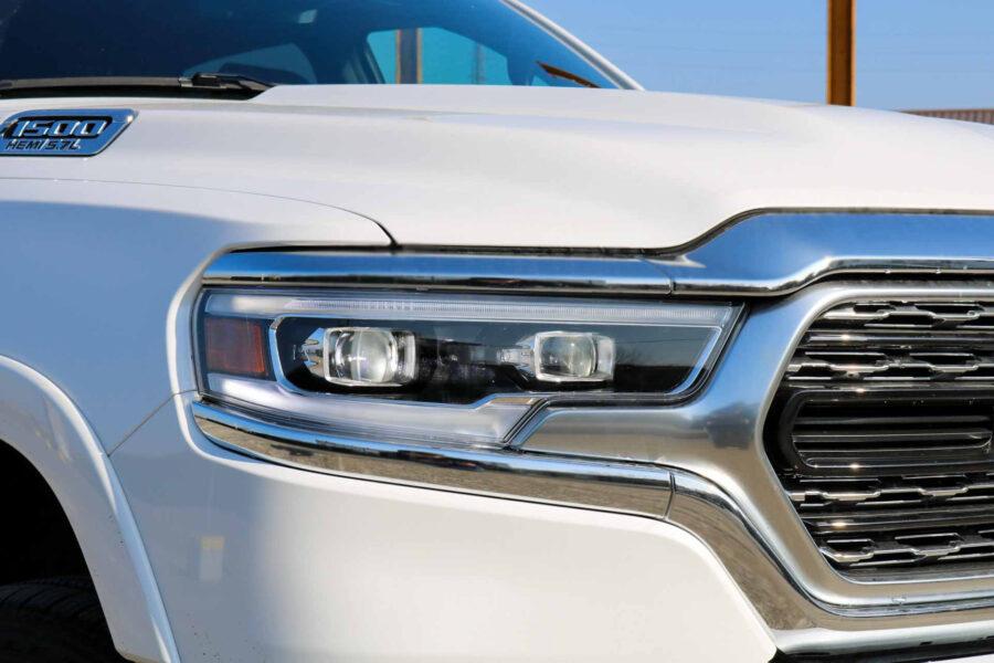 Dodge Ram Limited Bianco