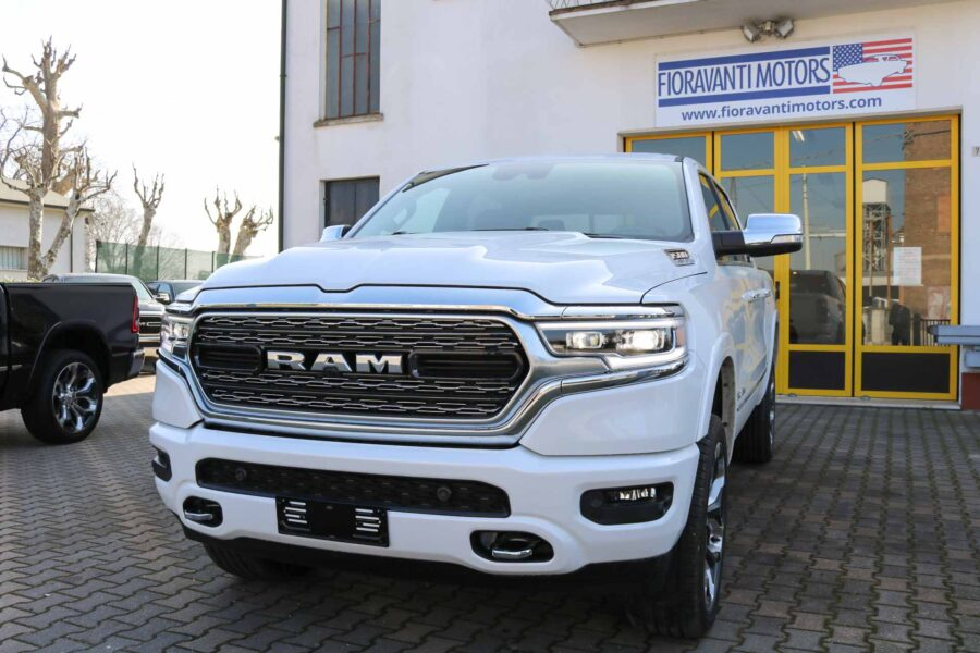 Dodge Ram Limited Bianco