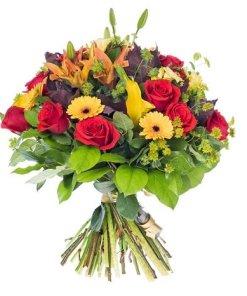 mazzo di fiori per anniversario colorati