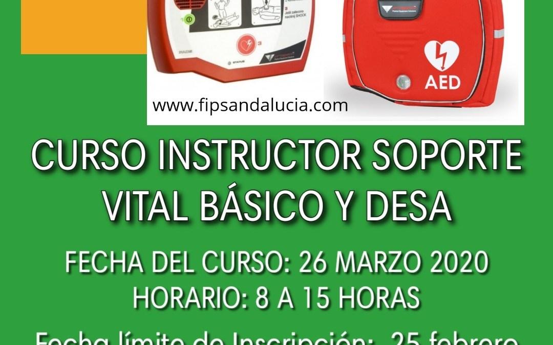 CURSO INSTRUCTOR EN SOPORTE VITAL BÁSICO Y DESA