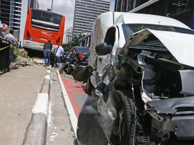 Avenidas com mais acidentes graves em São Paulo