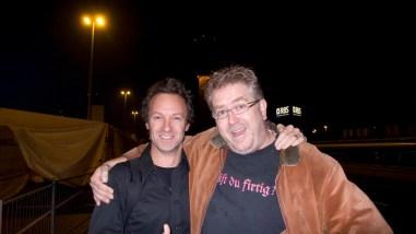 Jeremy, Me on Schiphol airport