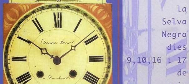 III Fira del Rellotge de Catalunya, 9, 10 16 i 17 de maig de 1998