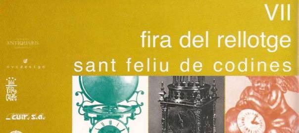 VII Fira del Rellotge de Catalunya,18 i 19 de maig de 2002