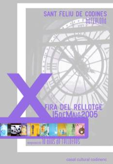Cartell X Fira any 2006