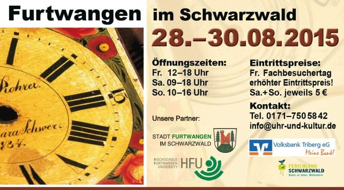 Aquest proper cap de setmana hi ha la 31ª Fira del Rellotge Antic de Fürtwangen, al cor de la Selva Negra d'Alemanya
