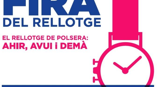"""XXI Fira del Rellotge diumenge 22 de maig """"El Rellotge de Polsera"""""""