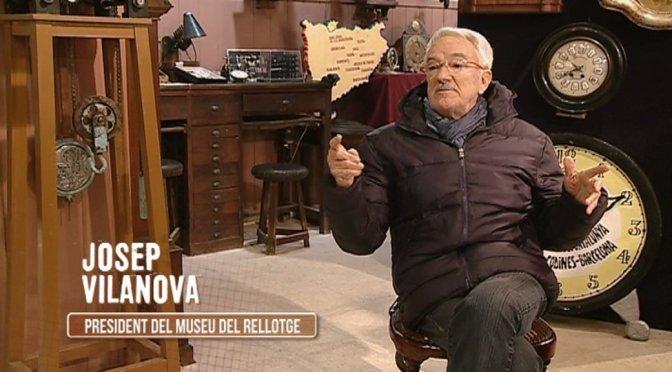 """""""Carreteres"""" amb Josep Vilanova, """"Rellotges extravegants a Sant Feliu"""""""