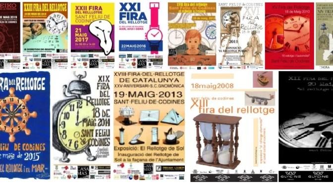 Amb la propera seran 25 edicions de la Fira del Rellotge de Catalunya