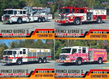 Prince George's County Fire Departments, Series 3