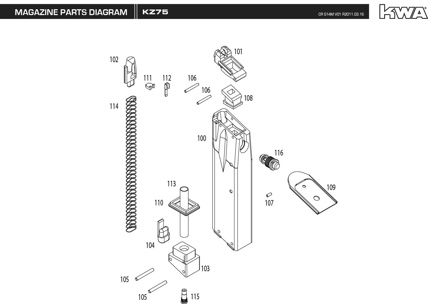 Kwa Mag Manual Kz75