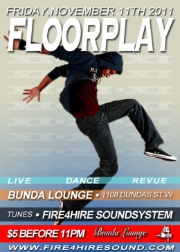 Floorplay Bunda Lounge Fire4HireSound