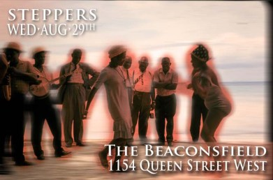 Steppers @ The Beaconsfield