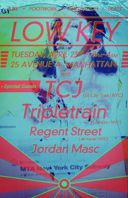 LOW KEY 005 TCJ Tripletrain Regent Street Jordan Masc Juke Footwork 2A
