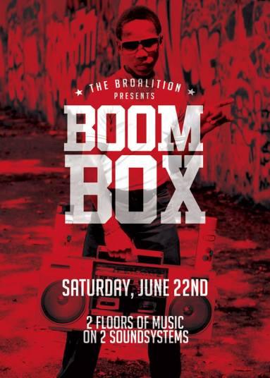 Boom Box Lily College Street Toronto Party Fire 4 Hire Safari Pete Funk