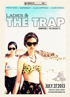 Ladies and the Trap July 27 Crawford