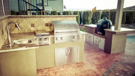 Patio Kitchen After