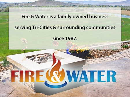 Fire and Water a fireplace and outdoor kitchen store in richland wa