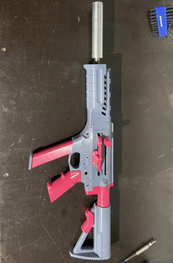 FGC-9 with suppressor but missing fire control group.
