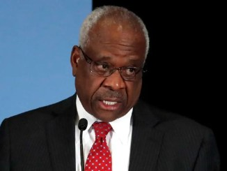 """The Supreme Court on Tuesday turned down a request from gun rights activists to examine California's 10-day waiting period for firearm sales, prompting Justice Clarence Thomas to say his colleagues are turning the Second Amendment into a """"disfavored right."""" Thomas was alone among the justices to note his dissent from the court's refusal to review a ruling from the U.S. Court of Appeals upholding California's law, which is similar to one in the District of Columbia and eight other states."""