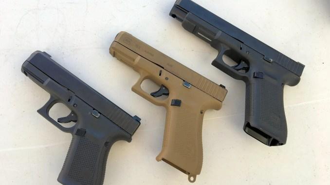 the glock 19x compared to the glock 19 gen 5 firearm rack