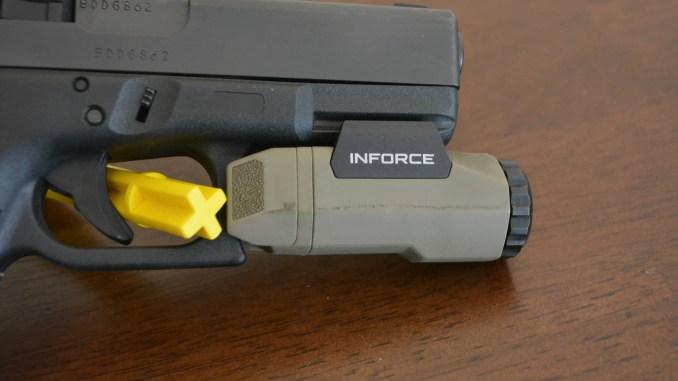 inforce apl weapon light is it good enough firearm rack