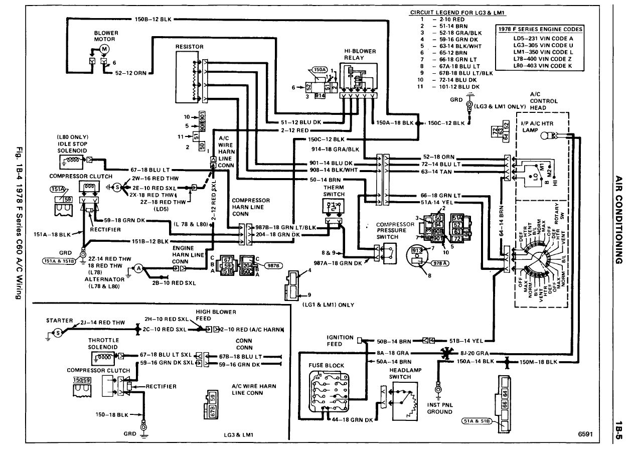 Chevy Chevette Wiring Diagram