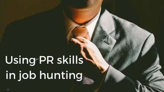 public relations job seekers