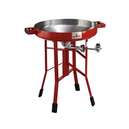 red short FIREDISC propane cooker