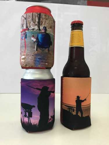 Three FIREDISC koozies