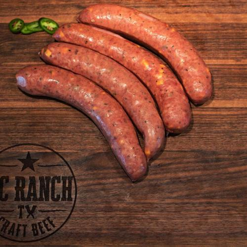 Wagyu Jalapeno Cheese Sausage Link