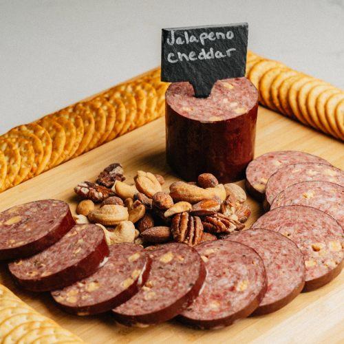 Wagyu Jalapeno Cheese Summer Sausage
