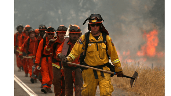 firefighter inmates