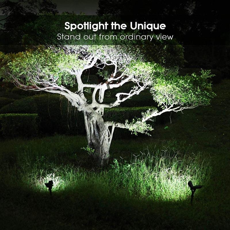 solar spot lighting